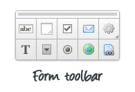 Form toolbar